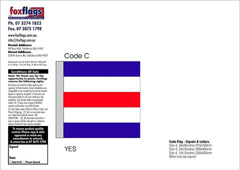 Code C Size 3 (YES)
