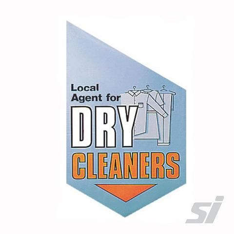 Dry Cleaning End Sign Kit