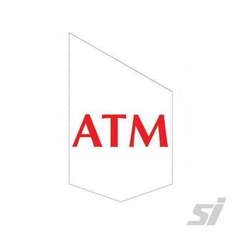 ATM End Sign Kit